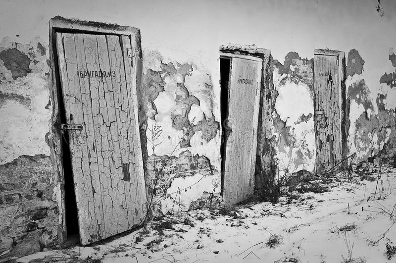 Download Doors stock photo. Image of abandoned, consequences, environmental - 18520686