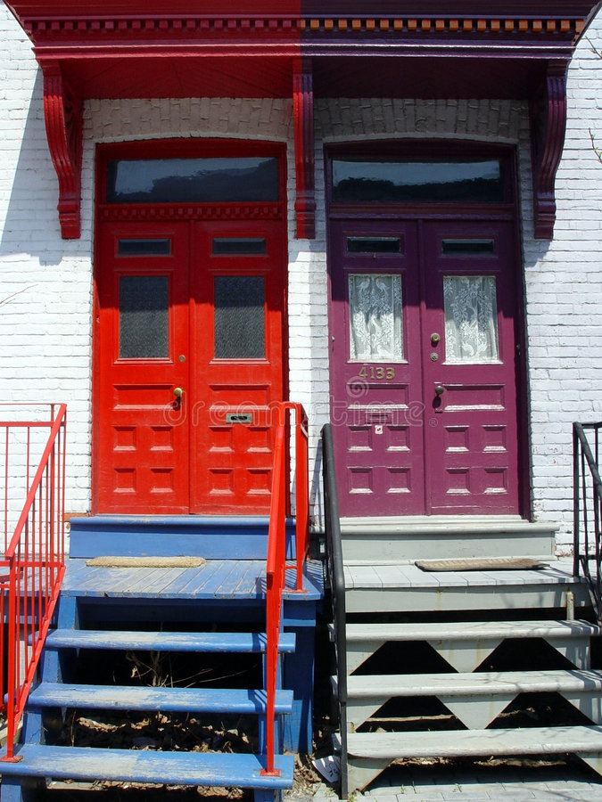 Doors royalty free stock images