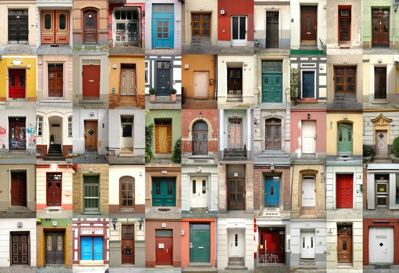 Doors - Berlin, Germany royalty free stock photos