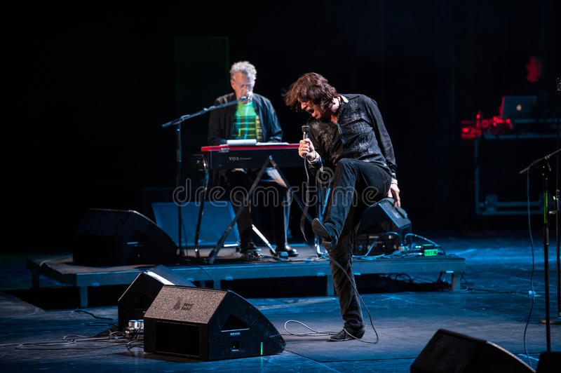 The Doors concert royalty free stock photo