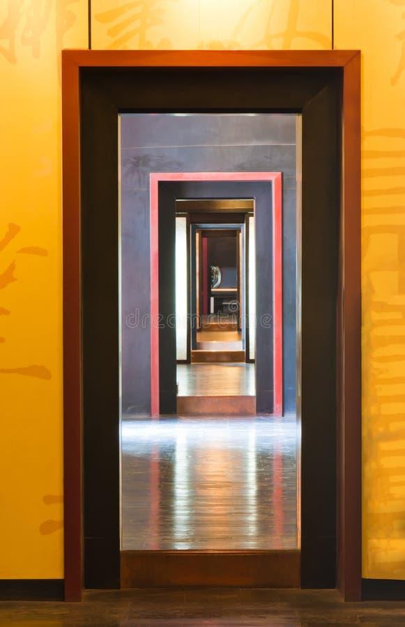 doors corridor royalty free stock photos