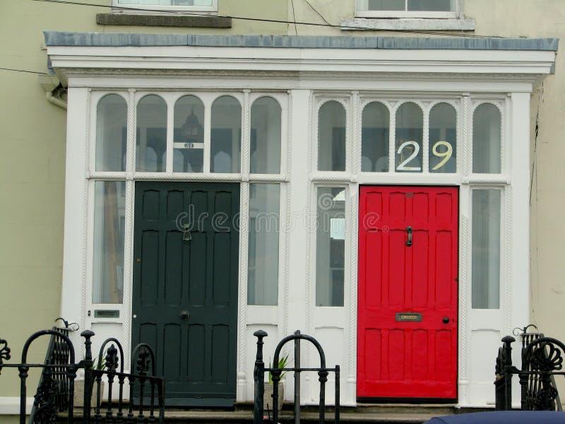 Doors Dublin. Doors in Dublin, Sandymount Ireland royalty free stock photos