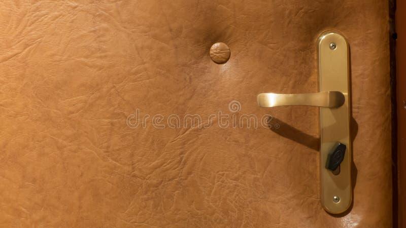 Doors handle stock image