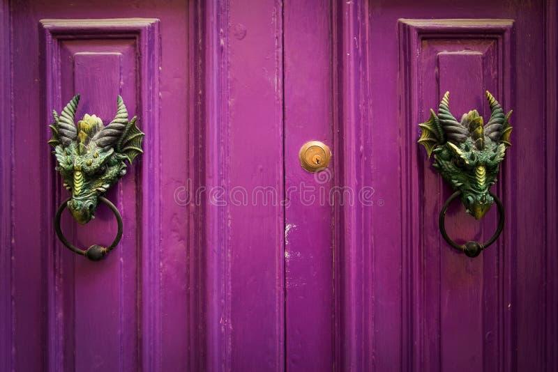 Doors knob. Malta. Mdina. Doors knob. Malta. Old Mdina royalty free stock image