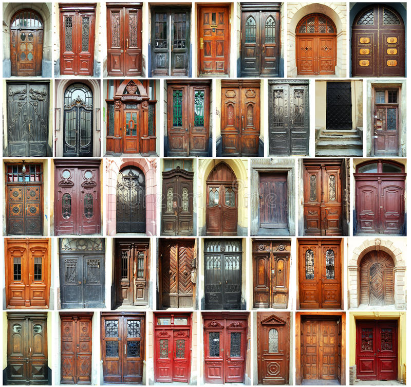 Doors - Lviv, Ukraine royalty free stock images