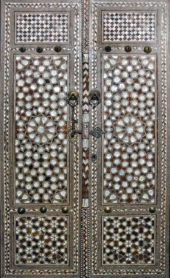 Download Doors With Mother-of-pearl Inlay In Topkapi Palace Harem Istanbul Stock : mother doors - pezcame.com