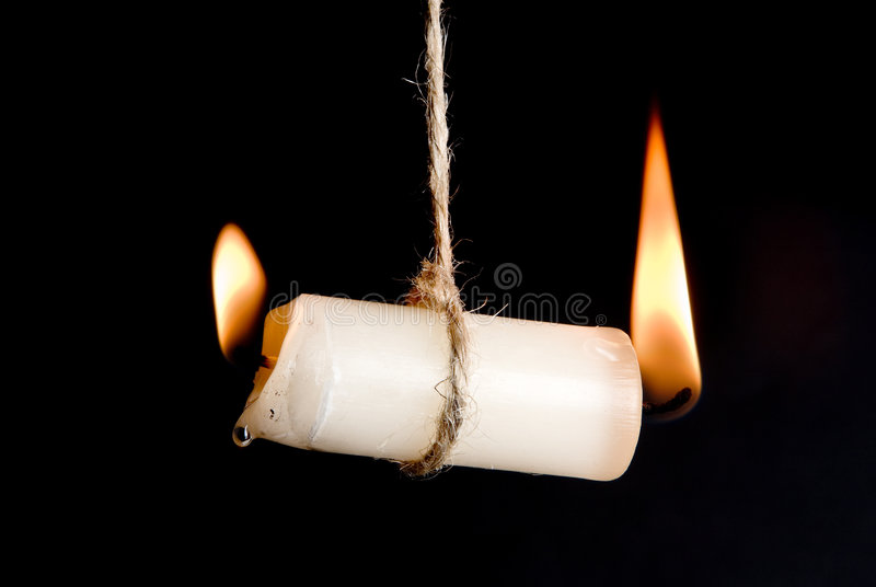 Doorsmelting stock fotografie