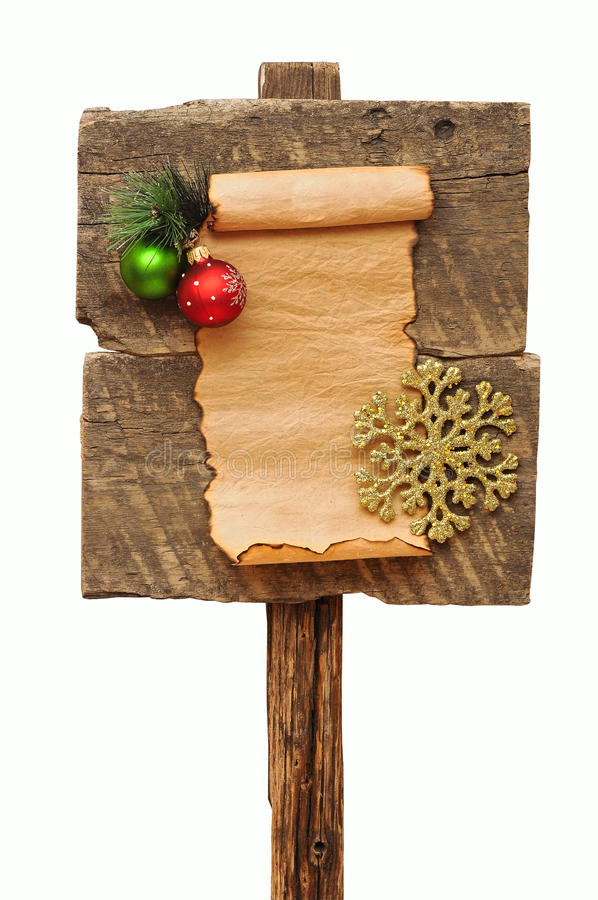 Doorstaan houten teken stock fotografie