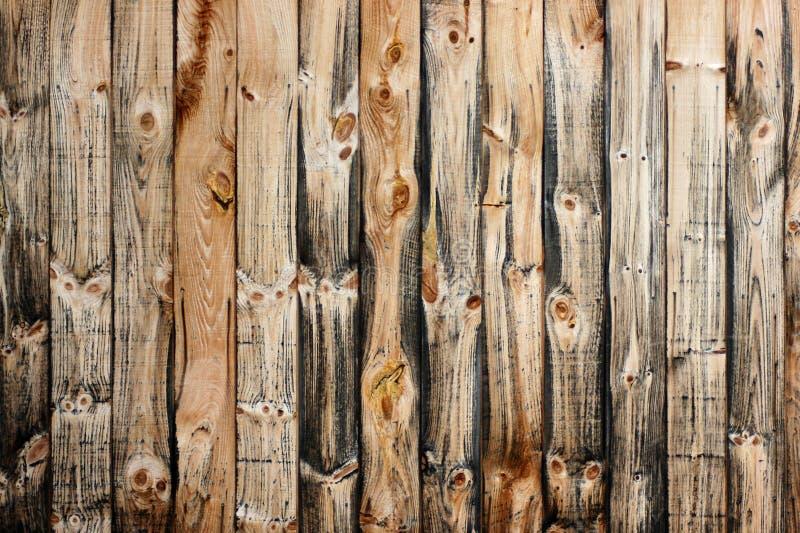 Doorstane houten raad royalty-vrije stock afbeeldingen