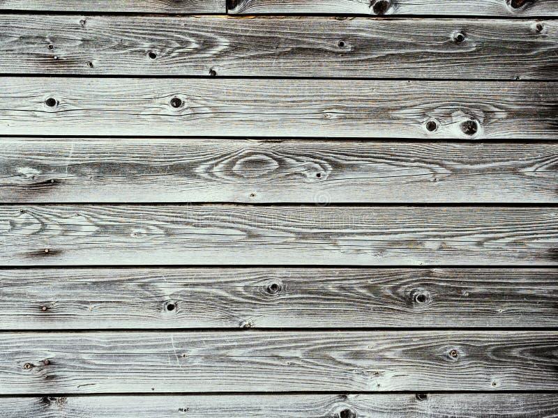 Doorstane natuurlijke houten planken royalty-vrije stock foto's