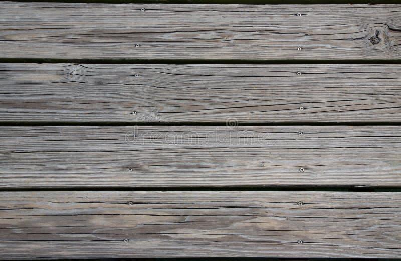 Doorstane Planken stock foto's