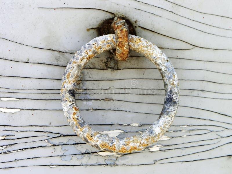 Doorstane ring royalty-vrije stock afbeelding