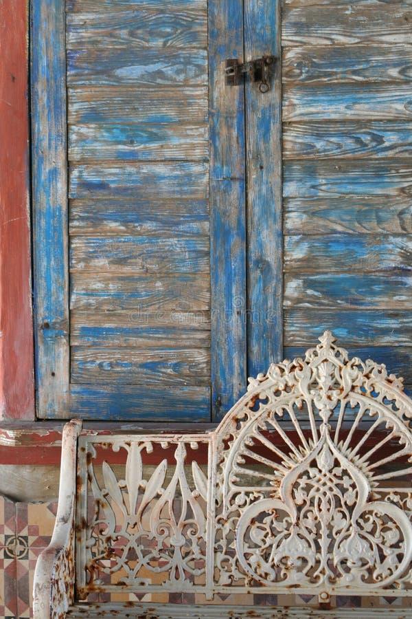 Doorstane Scène royalty-vrije stock fotografie