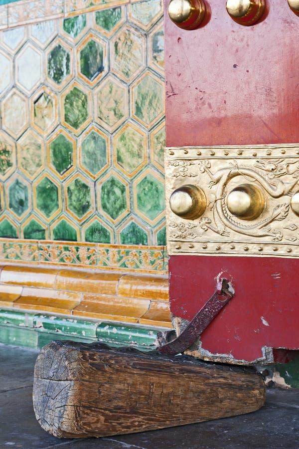 Doorstop antique images stock