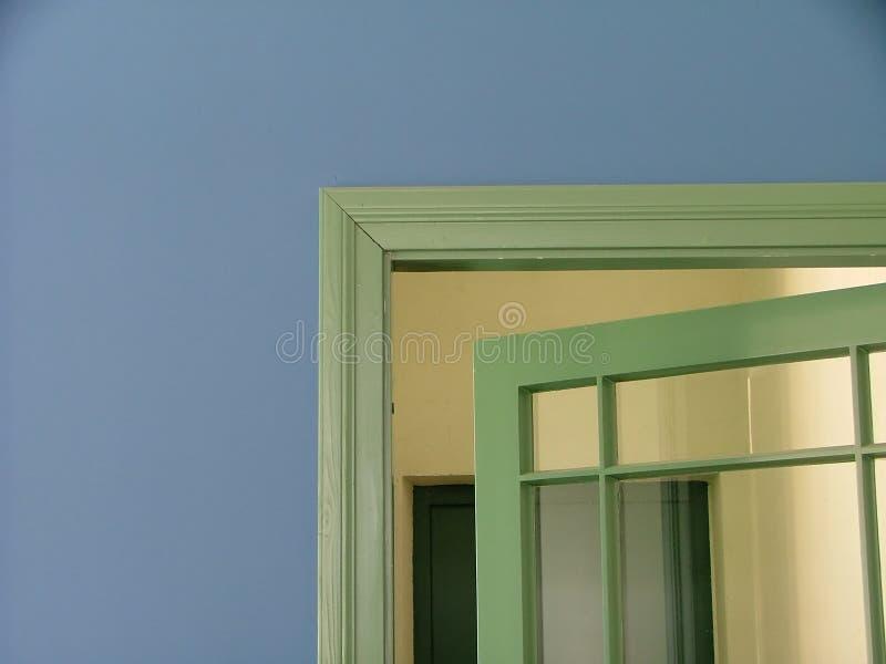 Download Doorway stock photo. Image of full, hallway, green, indoor - 165750