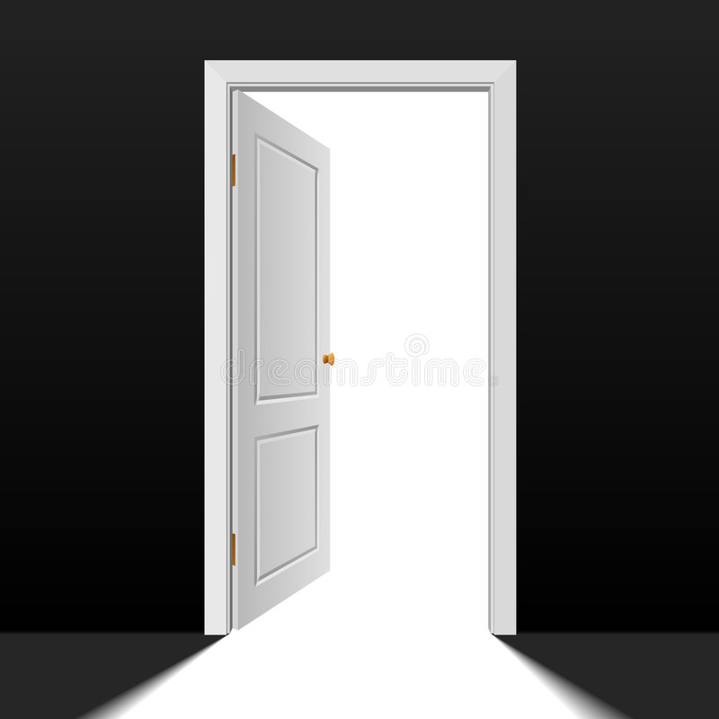 Download Doorway stock vector. Illustration of isolated, entering - 7761124
