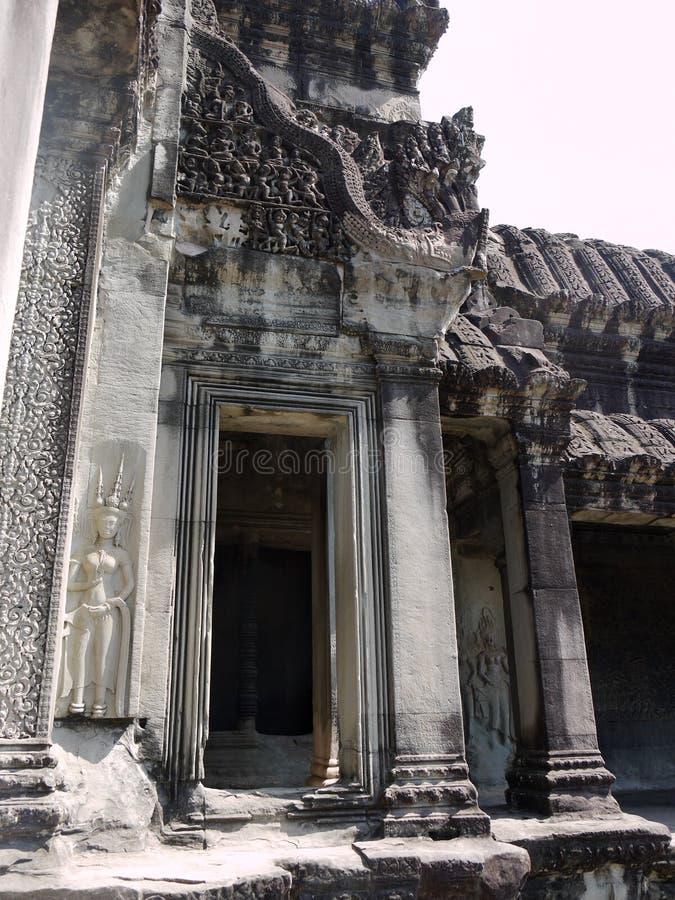 Download Doorway in Angkor Watt stock photo. Image of architecture - 20542558