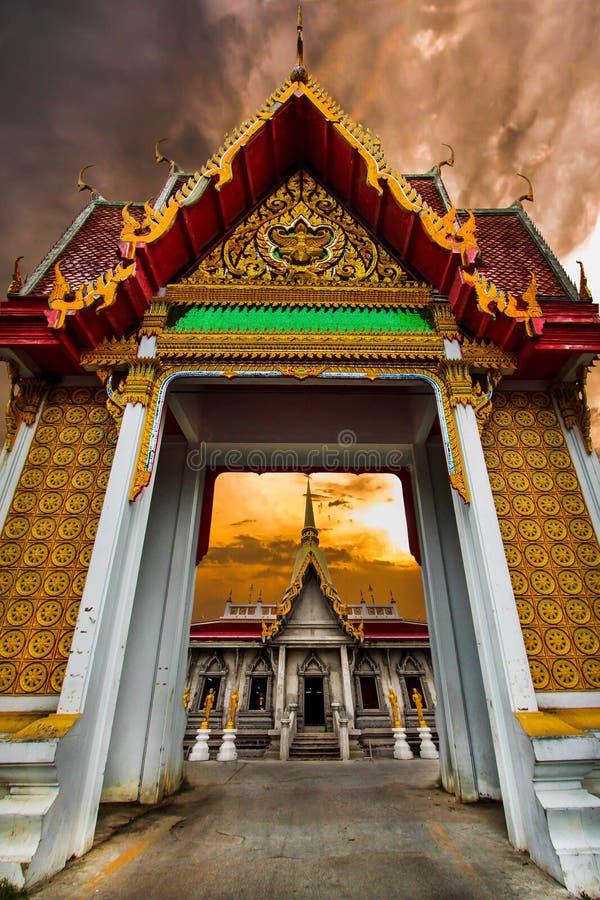Doorway. Is the door of thailand temple which can find the door at only temple,so beautiful door stock images