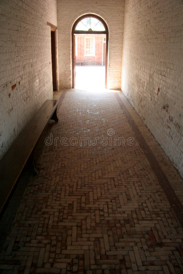 Doorway And Hall Royalty Free Stock Images
