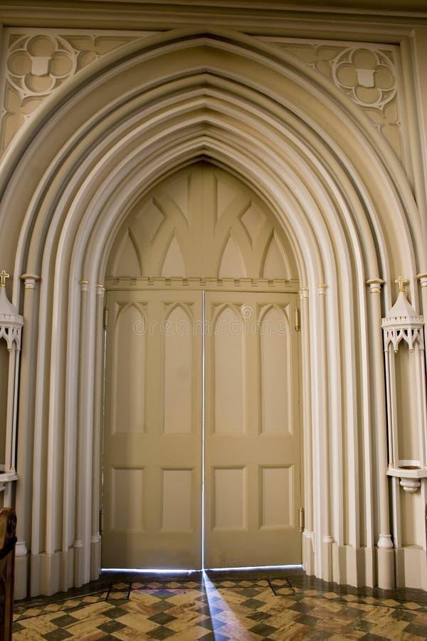 doorway light στοκ φωτογραφία με δικαίωμα ελεύθερης χρήσης