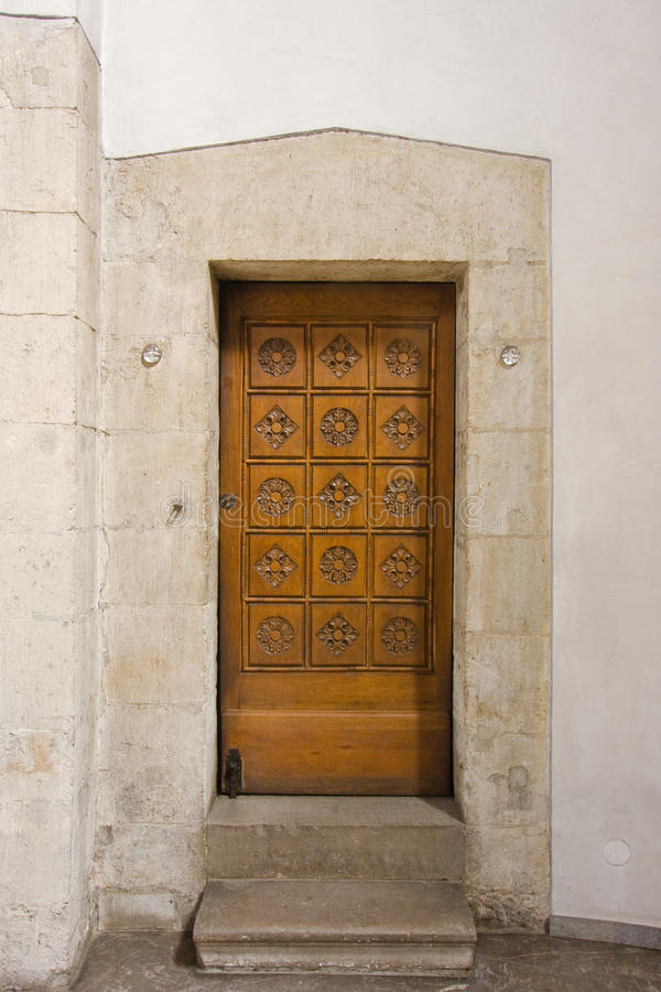 Doorway For The Priest Stock Image
