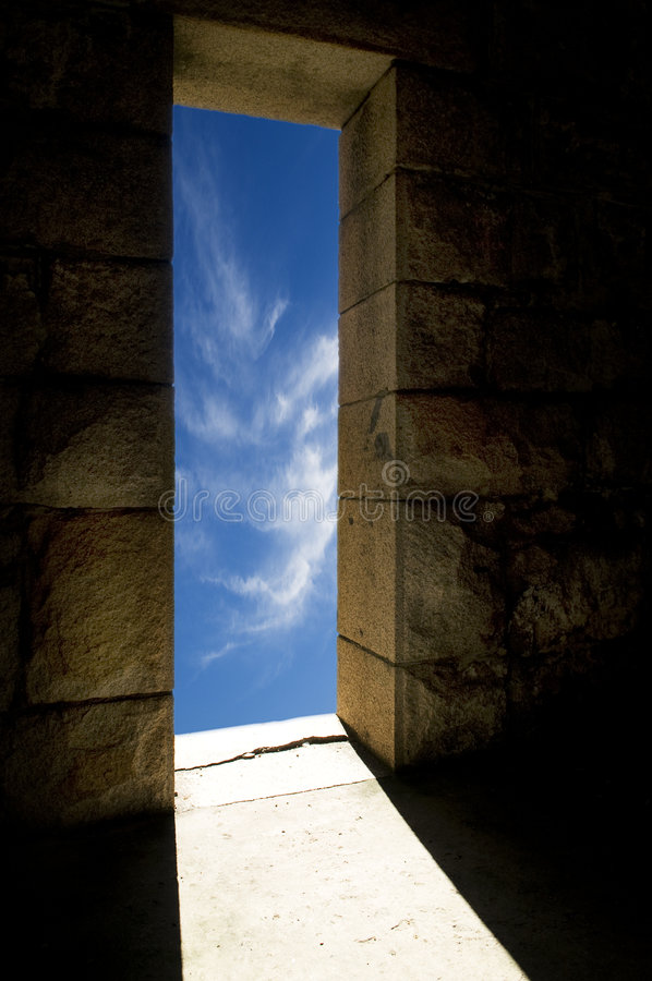 Download Doorway to......... stock image. Image of outside, architecture - 9179007