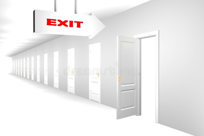 Download Doorway To Dreams stock illustration. Illustration of imagination - 4415855