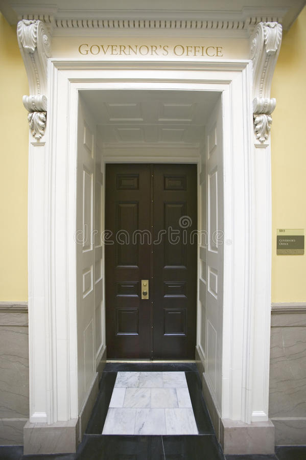 Download Doorway To Governor's Office Of Virginia State Capitol Editorial Stock Image - Image: 27072424