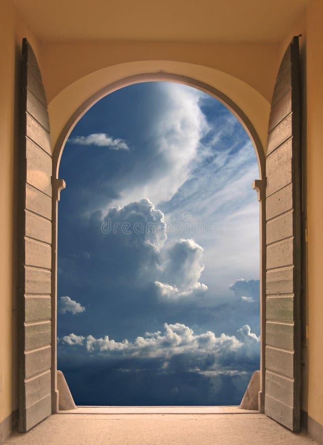 Download Doorway to serenity stock image. Image of heaven, elegant - 2539685