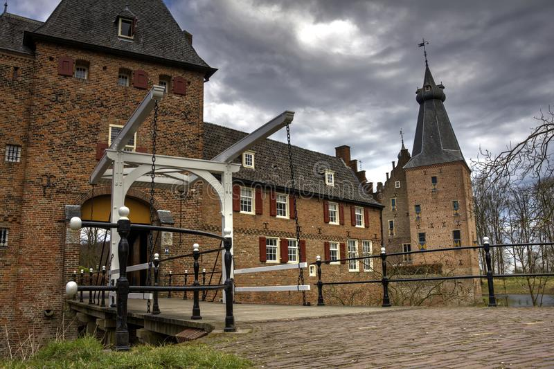 Castle Doorwerth royalty free stock photo