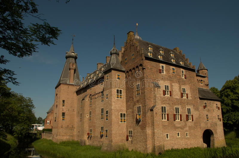 Doorwerth-Schloss stockfotografie