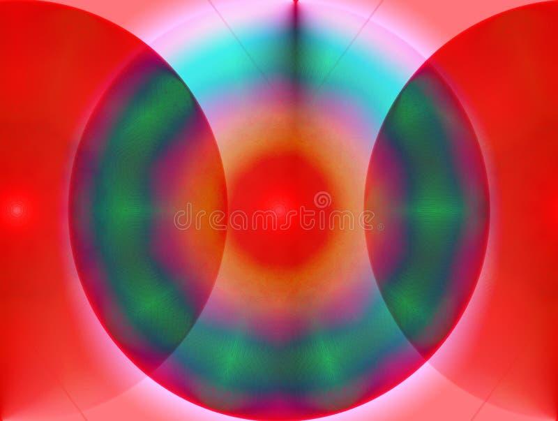 Doorzichtige kleuren royalty-vrije stock afbeelding