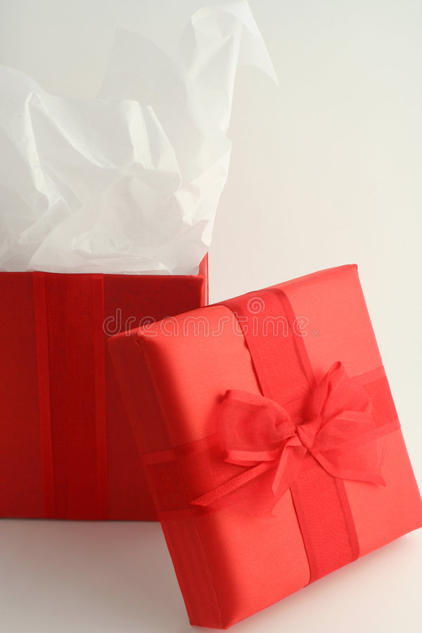 Doos 2 van de gift stock afbeelding