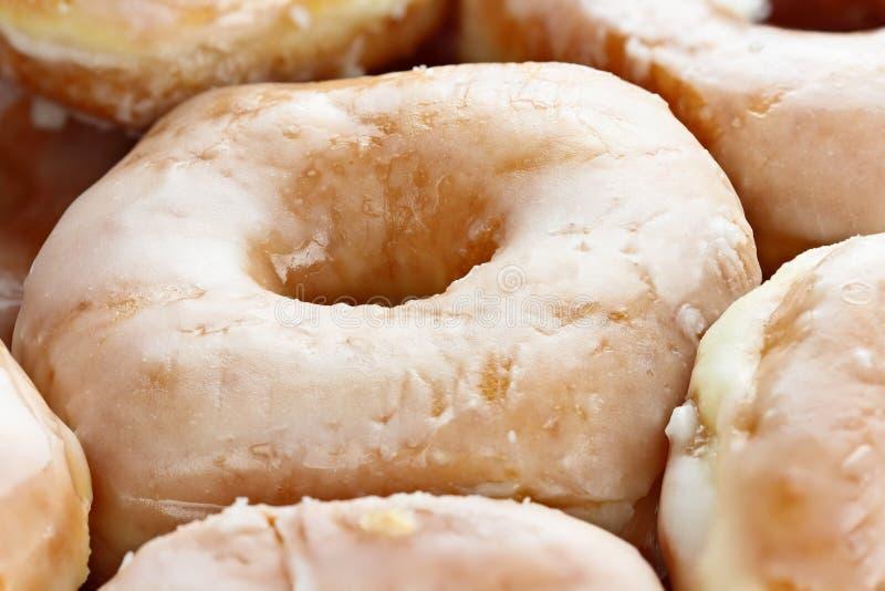 Doos van Donuts stock fotografie