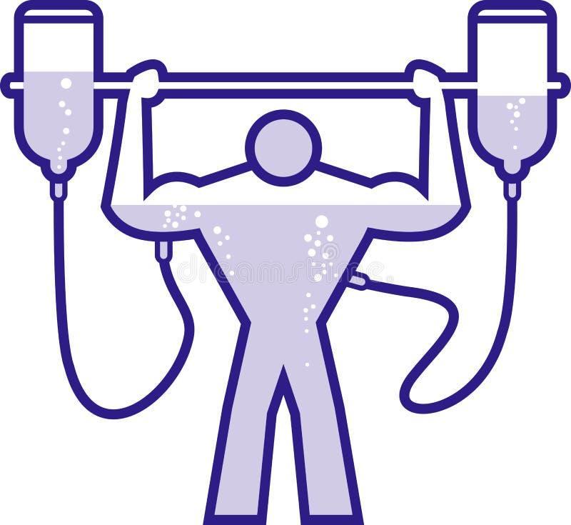 Download Doped body builder stock vector. Image of bodybuilding - 5948938
