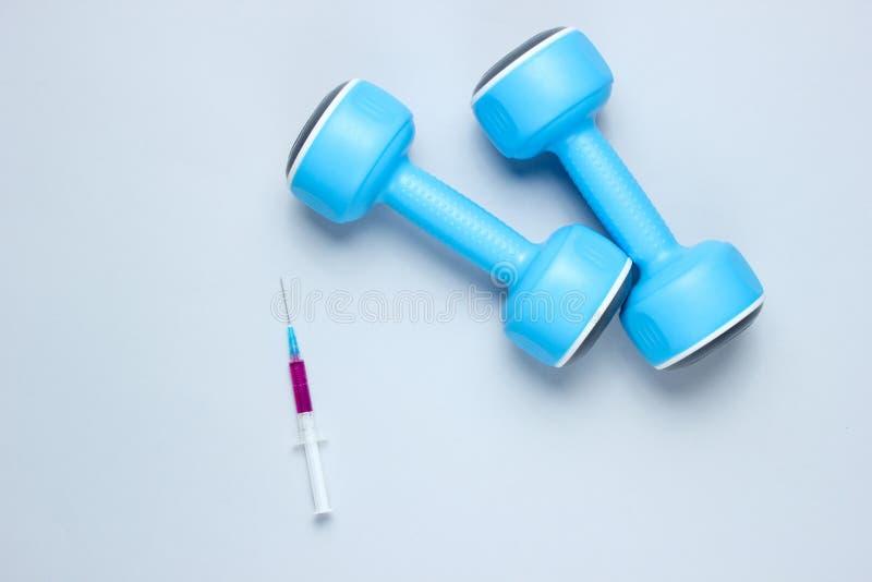 doping sportu zdjęcia stock
