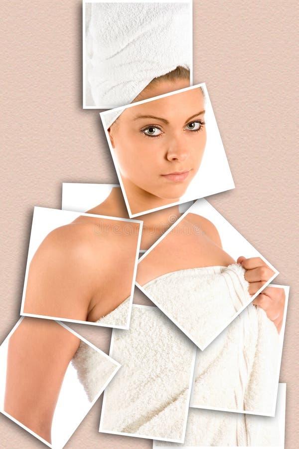 Download Dopo il bagno immagine stock. Immagine di donna, pulito - 3136893