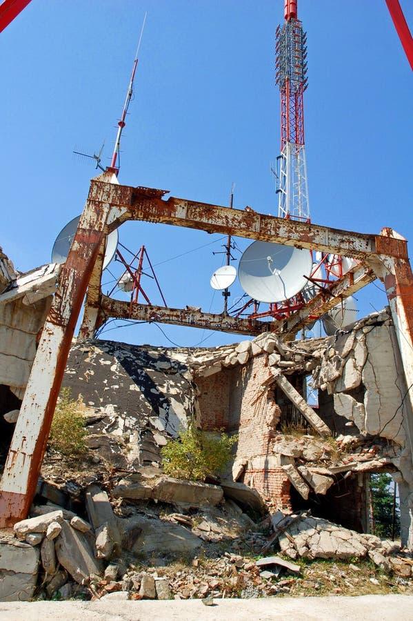 Dopo il terremoto immagini stock libere da diritti