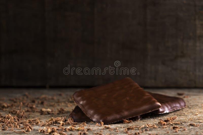 Dopo la cena mints il cioccolato immagini stock