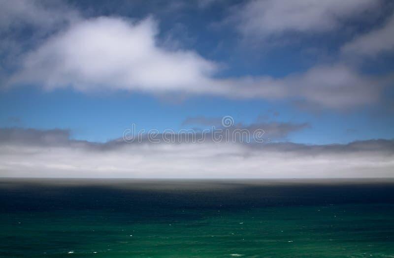 Dopo la tempesta San Francisco Bay Ocean Beach illustrazione vettoriale