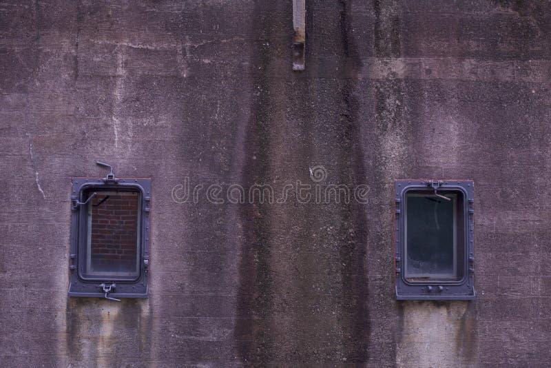 Doppel-Ports stockfotos