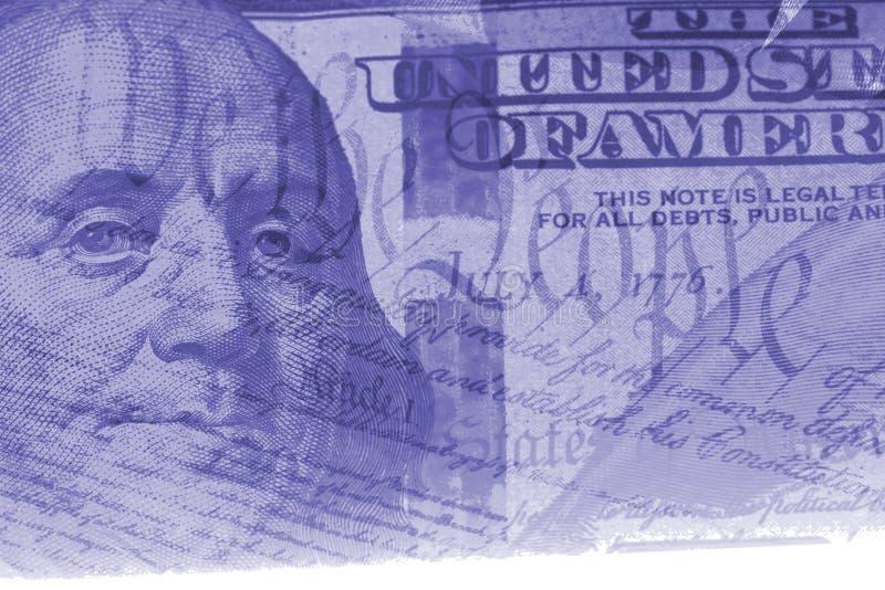 Doppelbelichtungsfinanzierung und Regierungskonzept stock abbildung