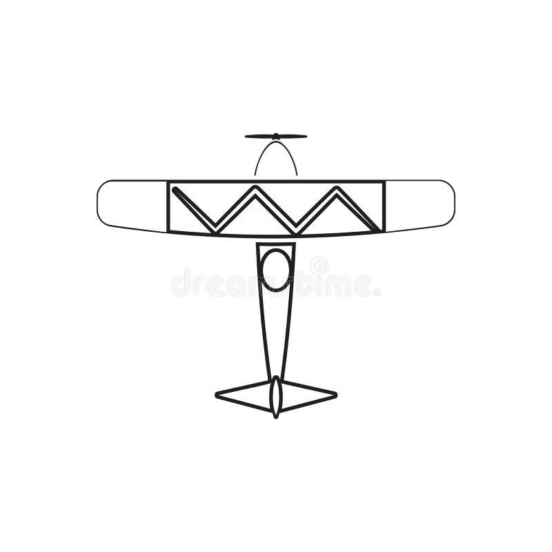 Doppeldeckerikone Element der Transportansicht von oben f?r bewegliches Konzept und Netz Appsikone Entwurf, d?nne Linie Ikone f?r vektor abbildung