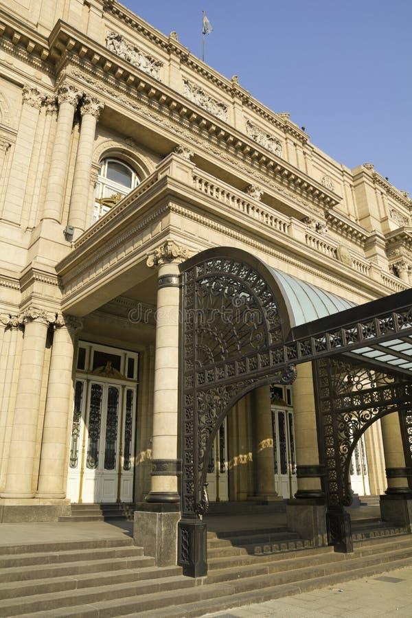 Doppelpunkt-Theater, Buenos Aires, Argentinien. stockfoto