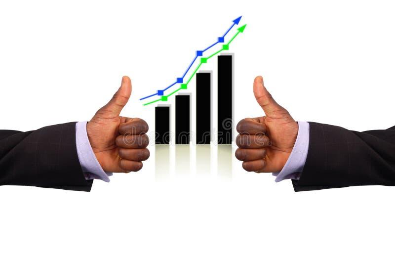 Doppelte Erfolgs-Profite lizenzfreies stockfoto