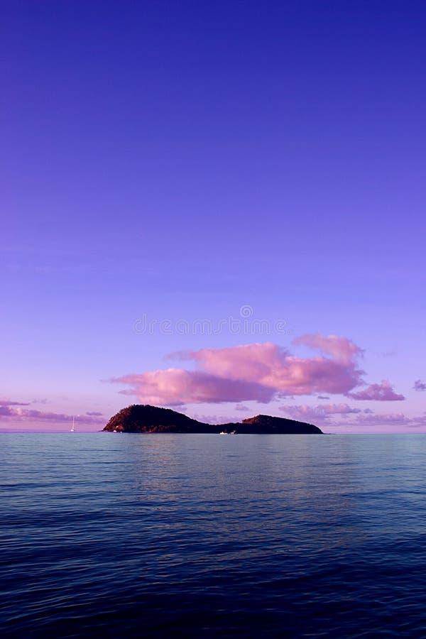 Doppelte Insel stockfotos