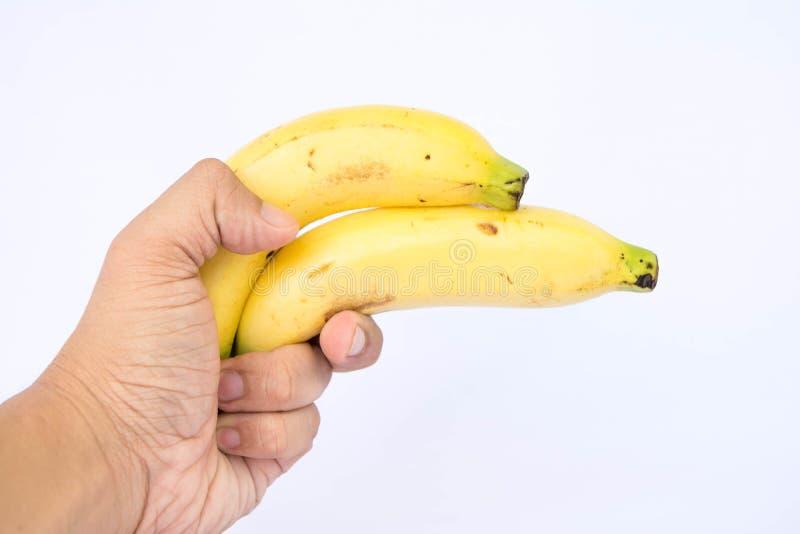 Doppeltes Bananengewehr lizenzfreies stockbild