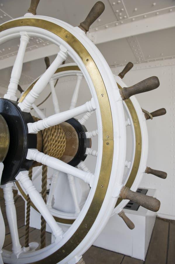 Doppeltes Rad eines Schiffs lizenzfreie stockfotos