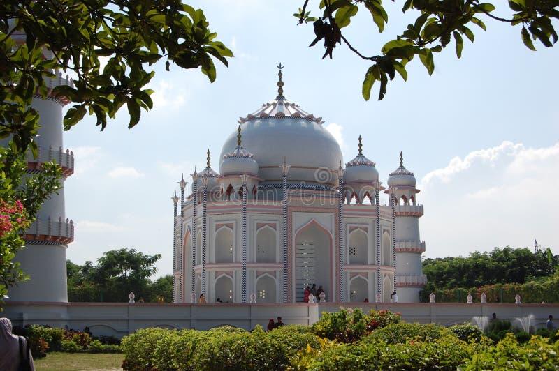 Doppeltes Taj Mahal stockbilder