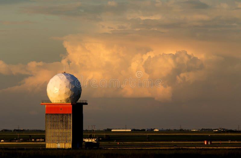 Doppler radar obrazy royalty free